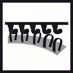 Talerz szlifierski z otworami średni, 125 mm