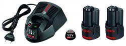 Zestaw startowy Zestaw startowy: 2 akumulatory GBA 12V 3.0Ah + GAL 1230 CV