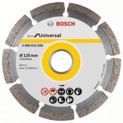 Diamentowa tarcza tnąca ECO for Universal 125x22.23x2.0x7mm