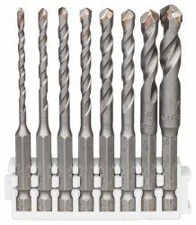 Wiertło Hex-9 Ceramic, 3 mm, 4 mm, 5 mm, 5 mm, 6 mm, 6 mm, 8 mm, 10 mm