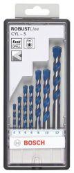 7-częściowy zestaw wierteł do betonu Robust Line CYL-5 4; 5; 5; 6; 6; 8; 10 mm
