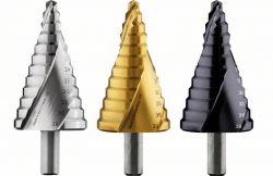 Wiertło stopniowe, stal szybkotnąca HSS-TiN 6 - 39 mm, 10,0 mm, 93,5 mm