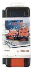 18-częściowy zestaw wierteł do metalu HSS-G Toughbox, DIN 338, 135° 1; 1,5; 2; 2,5; 3; 3,5; 4; 4,5; 5; 5,5; 6; 7; 8; 9; 10 mm