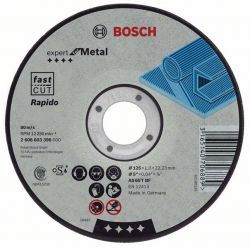 Tarcza tnąca prosta Expert for Metal – Rapido AS 60 T BF, 115 mm, 1,0 mm