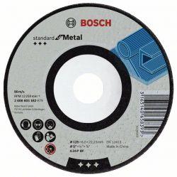 Tarcza ścierna wygięta Standard for Metal A 24 P BF, 180 mm, 22,23 mm, 6,0 mm