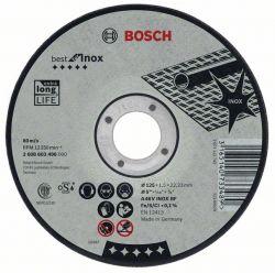 Tarcza tnąca wygięta Best for Inox A 30 V INOX BF, 125 mm, 2,5 mm