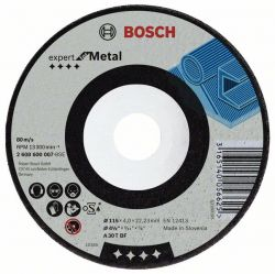 Tarcza ścierna wygięta Expert for Metal A 30 T BF, 115 mm, 4,8 mm