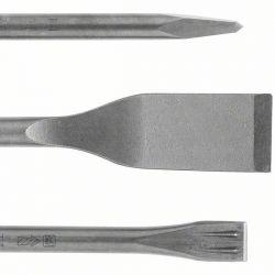 Zestaw dłut SDS plus, 3 szt. 250; 250; 260 x 20; 40 mm