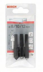 3-częściowy zestaw pogłębiaczy stożkowych 50 mm / 6-8 mm / 8; 10; 12 mm