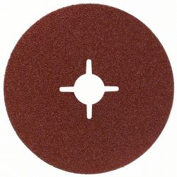 Fibrowa tarcza szlifierska R444, Expert for Metal D = 230 mm; K = 24