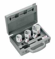 9-częściowy zestaw pił otwornic Progressor dla instalatorów sanitarnych 20; 25; 32; 38; 51; 64 mm