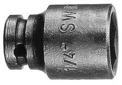 Klucz nasadowy 13 mm, 25 mm, 13 mm, M 8, 19,1 mm