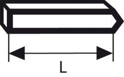 Sztyft, typ 40 16 mm